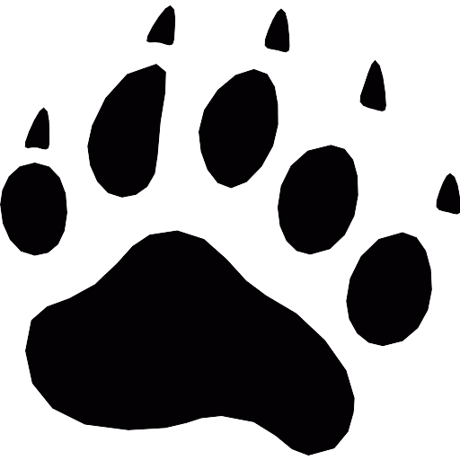 Bear Pawprint PNG Icon (4) - PNG Repo Free PNG Icons