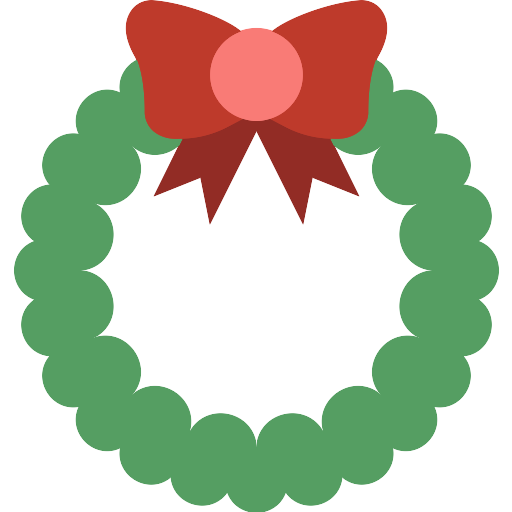 Christmas Reef Png.Christmas Wreath Christmas Png Icon Png Repo Free Png Icons