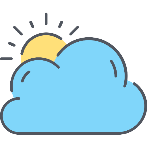 Cloudy Cloud PNG Icon (2) - PNG Repo Free PNG Icons