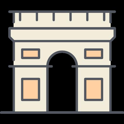 Arc De Triomphe Paris PNG Icon (3) - PNG Repo Free PNG Icons