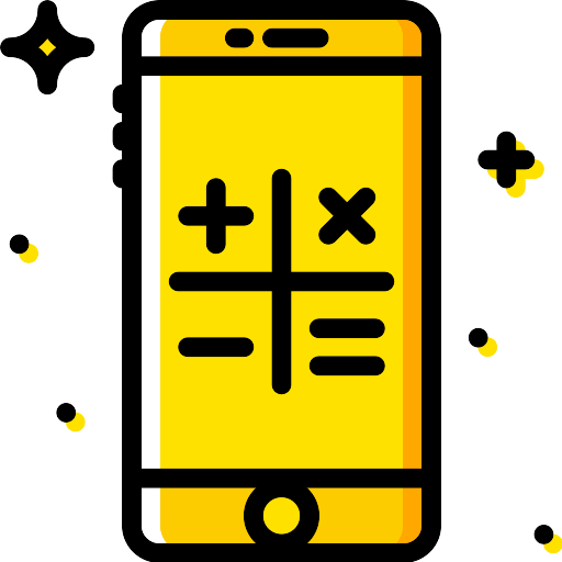 Smartphone Calculator PNG Icon - PNG Repo Free PNG Icons