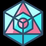 Icosahedron PNG Icon