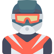 Motorcyclist PNG Icon
